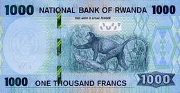RWANDA P. NEW 1000 F 2019 UNC - Rwanda