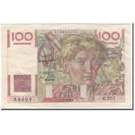 France, 100 Francs, Jeune Paysan, 1947-07-17, SUP, Fayette:28.15, KM:128b - 1871-1952 Antichi Franchi Circolanti Nel XX Secolo
