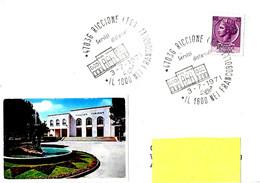 ITALIA - 1971 RICCIONE (FO) Il 1800 Nei Francobolli (Palazzo Del Turismo) - Architettura