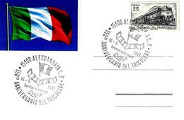 ITALIA - 1971 ALESSANDRIA 150° Anniv. Del Tricolore (bandiera) - Storia