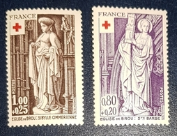 Timbres France Croix Rouge Neuf N.1910/11 MNH*** - Unused Stamps