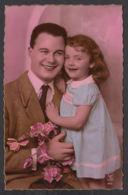 92365/ ENFANTS, Famille, Fillette Et Son Papa - Children And Family Groups