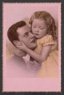92369/ ENFANTS, Famille, Fillette Et Son Papa - Groupes D'enfants & Familles