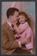 92368/ ENFANTS, Famille, Fillette Et Son Papa - Children And Family Groups