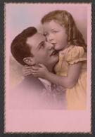 92370/ ENFANTS, Famille, Fillette Et Son Papa - Groupes D'enfants & Familles
