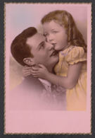 92370/ ENFANTS, Famille, Fillette Et Son Papa - Children And Family Groups