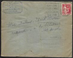 LF C31  Enveloppe De 1934 De Chinon (37) Timbre N°283 Dagain - Marcophilie (Lettres)