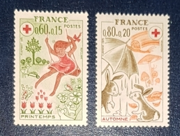Timbres France Croix Rouge Neuf N.1860/61 MNH*** - Unused Stamps