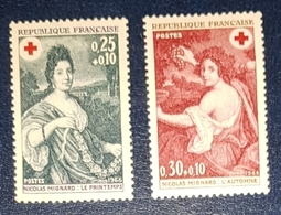 Timbres France Croix Rouge Neuf N.1580/81 MNH*** - Unused Stamps