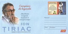 2019 - TENNIS - CHAMPION OF LEGEND - ION TIRIAC DOUBLE WINNER AT ROLAND GARROS - Postal Stationery
