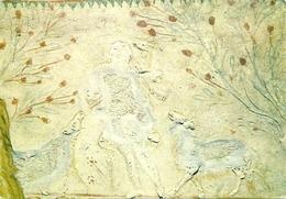 """Roma (Lazio)  Catacomba Di Santa Priscilla, """"Buon Pastore"""" In Stucco, Cubicolo Della Madonna - Roma (Rome)"""