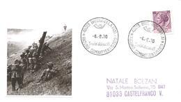 ITALIA - 1970 BRISIGHELLA (RA) Raduno Combattentistico 25° Battaglia Del Senio - Seconda Guerra Mondiale