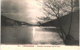 Gérardmer    Coucher De Soleil Sur Le Lac - Gerardmer