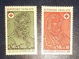 Timbres France Croix Rouge Neuf N.1735/36 MNH*** - Unused Stamps