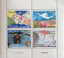 "Morocco 2005 Children""s Art S/S - Morocco (1956-...)"