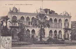 ALGER. PALAIS D'ETE DU GOUVERNEUR. COLLECTION IDEALE. CPA OBLITEREE 1909 BOUZAREAH - BLEUP - Algeri