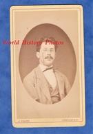 Photo Ancienne CDV Vers 1870 - PORRENTRUY - Portrait Homme Suisse - Photographe J. Enard Costume Pose Mode - Anciennes (Av. 1900)