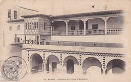 """ALGER. PAVILLION DU """"COUP D'EVENTAIL"""". COLLECTION IDEALE. CPA OBLITEREE 1909 BOUZAREAH - BLEUP - Algeri"""