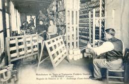 23 - Aubusson - Manufacture De Tapis Et Tapisseries Frédéric Danton - Magasin De Reserve N°11 - Ourdissage D'une Chaine - Aubusson
