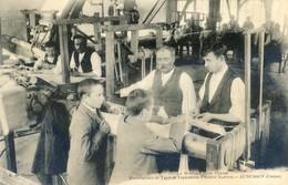 23 - Aubusson - Manufacture De Tapis Et Tapisseries Frédéric Danton - Montage D'une Chaine - Aubusson