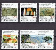 Venezuela 2010 - Art Collection National Bank, Complete Set - Michel 4243-48  Used, Oblit. Gest. - Venezuela