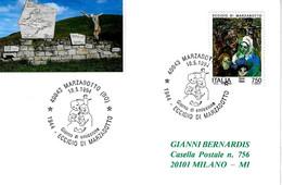 ITALIA - 1994 MARZABOTTO (BO) Eccidio Di Marzabotto Annullo Fdc - Seconda Guerra Mondiale