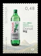 Slovenia 2018 Mih. 1312 Donat Mg Natural Mineral Water MNH ** - Slovenia