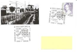 ITALIA - 2004 CARPI (MO) 10^ Mostra Filatelica -  Torretta Campo Di Concentramento Di Fossoli - Seconda Guerra Mondiale