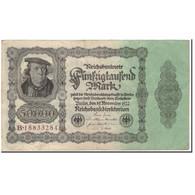 Billet, Allemagne, 50,000 Mark, 1922, KM:79, TTB - [ 3] 1918-1933 : Repubblica  Di Weimar