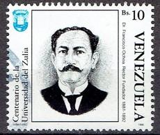 Venezuela 1990 - Centenary Of University Of Zulia - Michel 2632  Used, Oblit. Gest. - Venezuela