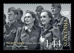 Slovenia 2018 Mih. 1326 Slovenian Cinema. On Our Own Land. World War II MNH ** - Slovenia