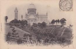 ALGER. NOTRE DAME D'AFRIQUE. COLLECTION IDEALE. CPA OBLITEREE CIRCA 1900s KOLEA - BLEUP - Algeri