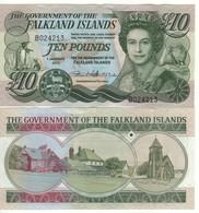 FALKLAND ISLANDS 10  Pounds P18  Dated 1.1. 2011 - Falkland Islands