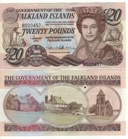 FALKLAND ISLANDS 20  Pounds P19  Dated 1.1. 2011 - Islas Malvinas