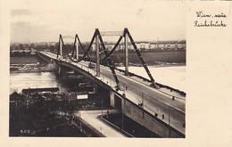 AK Wien - Neue Reichsbrücke - Werbestempel Flugpost - 1938 (41309) - Other