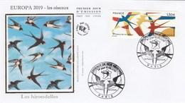 FDC 2019 - Europa 2019 - Les Oiseaux - 1er Jour Le 10.05.2019 à 75 Paris - FDC