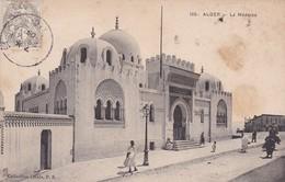ALGER.  LA MEDERSA. COLLECTION IDEALE. CPA OBLITEREE 1909 KOLEA - BLEUP - Algeri