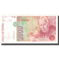 Billet, Espagne, 2000 Pesetas, 1992-04-24, KM:164, NEUF - [ 4] 1975-… : Juan Carlos I