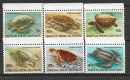 PAPUA NEW GUINEA  STAMPS SET TURTLES  MNH - Papua New Guinea