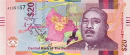 BAHAMAS P. 80 20 D 2018 UNC - Bahamas