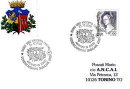 ITALIA - 2000 VIBO VALENTIA Domenicarchivio Giubilare (stemma) - Buste