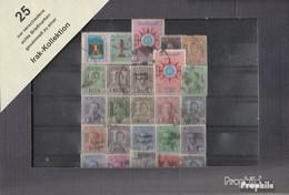 Irak Briefmarken-25 Verschiedene Marken - Iraq
