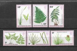 ASCENSION STAMPS SET PLANTS MNH - Ascension