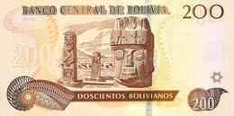 BOLIVIA P. 247 200 R 2016 UNC - Bolivia