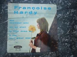Françoise Hardy: Ton Meilleur Ami-On Se Plait-La Fille Avec Toi-Il Est Tout Pour Moi/ 45t Disques Vogue EPL. 8048 - Vinyl Records