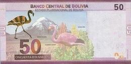 BOLIVIA P. NEW 50 R 2018 UNC - Bolivia