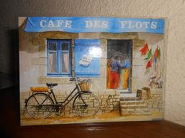 Repro  Cartonnée Et Plastifiée   BISTROT / CAFE DES FLOTS - Métiers