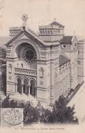MUSTAPHA. EGLISE SAINT CHARLES. CPA OBLITEREE 1909 BOUZAREAH - BLEUP - Algeria