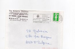 Flamme 81  SAINT PIERRE DE TRIVISY (TARN) Station Verte De Vacances Piscine Mini Golf - Postmark Collection (Covers)