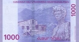 ARMENIA P. NEW  1000 D 2018 UNC - Armenia